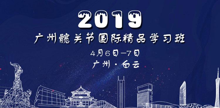 2019广州髋关节国际精品学习班