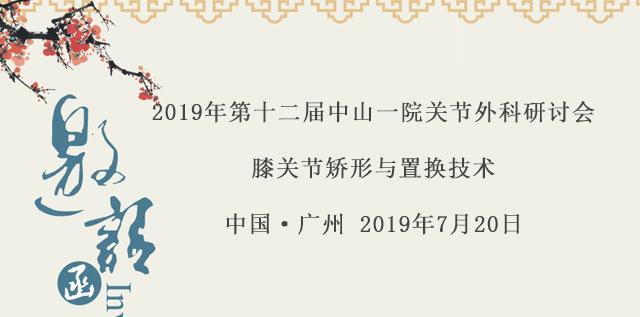 2019年第十二届中山一院关节manbetx万博体育平台研讨会